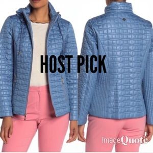 HOST PICK Kate Spade Quilted Packable Hood Jacket